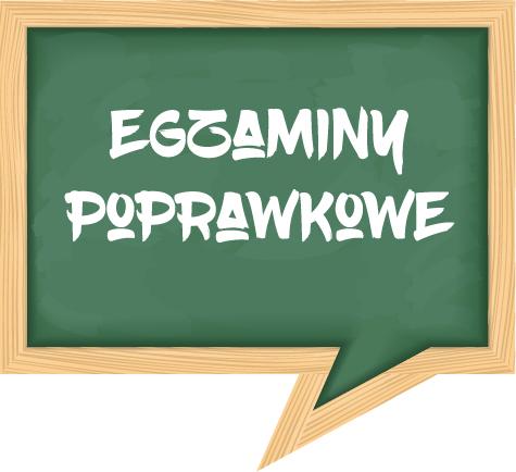 Terminy egzaminów poprawkowych