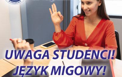 Kurs języka migowego!