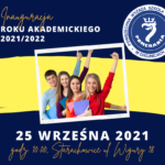 25 września inauguracja Roku Akademickiego